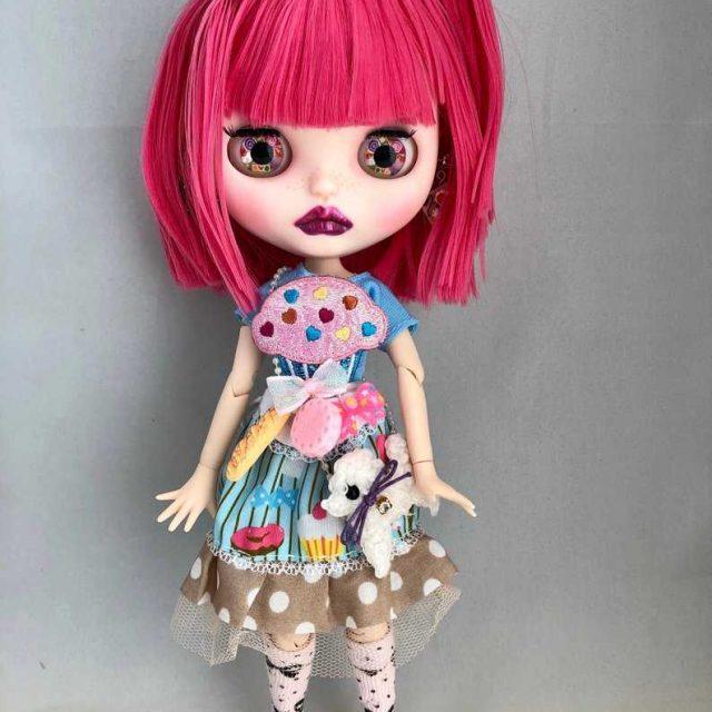 Ashley – Custom Blythe Doll One-Of-A-Kind OOAK