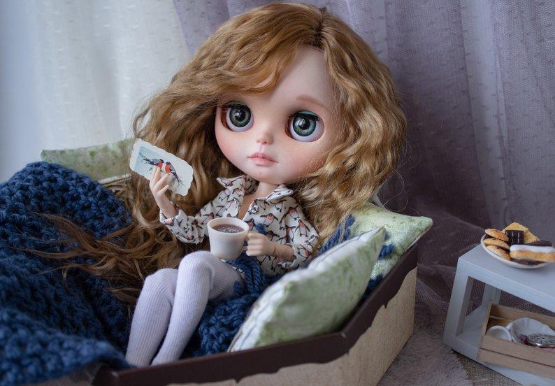 Nicole - Custom Blythe Doll One-Of-A-Kind OOAK Sold-out Custom Blythes