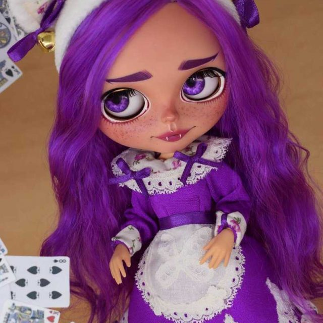 Iliana – Custom Blythe Doll One-Of-A-Kind OOAK