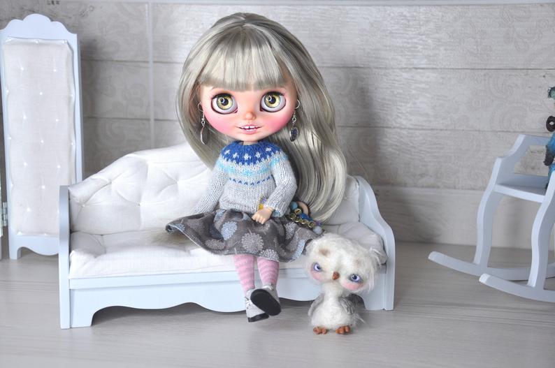 Estrella - Custom Blythe Doll One-Of-A-Kind OOAK Sold-out Custom Blythes