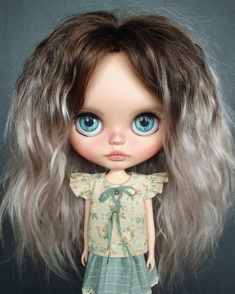 Esperanza - Custom Blythe Doll One-Of-A-Kind OOAK Sold-out Custom Blythes