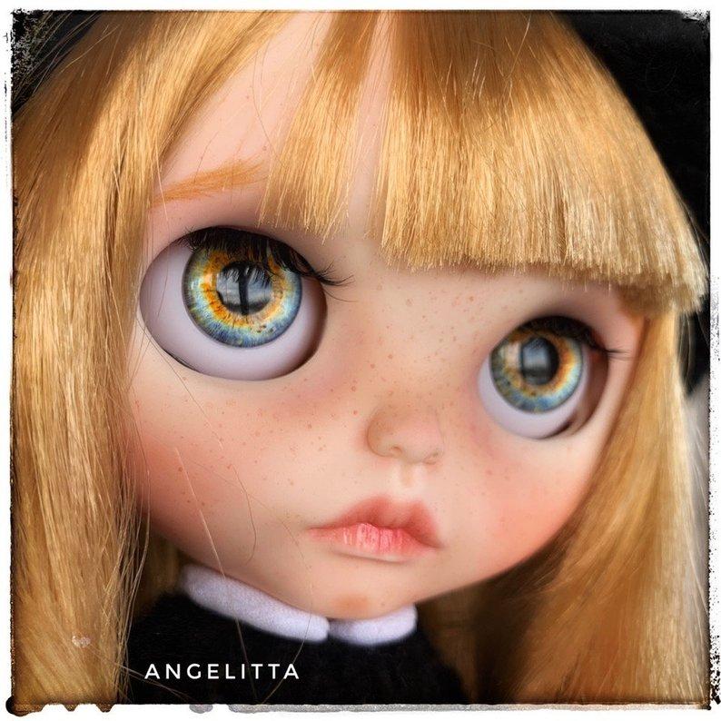 Angelitta - Custom Blythe Doll One-Of-A-Kind OOAK Sold-out Custom Blythes