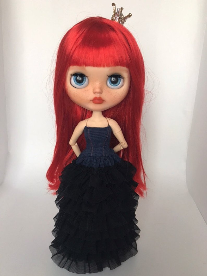 Genesis - Custom Blythe Doll One-Of-A-Kind OOAK Sold-out Custom Blythes