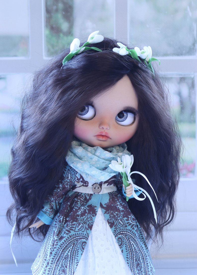 Alani - Custom Blythe Doll One-Of-A-Kind OOAK Sold-out Custom Blythes