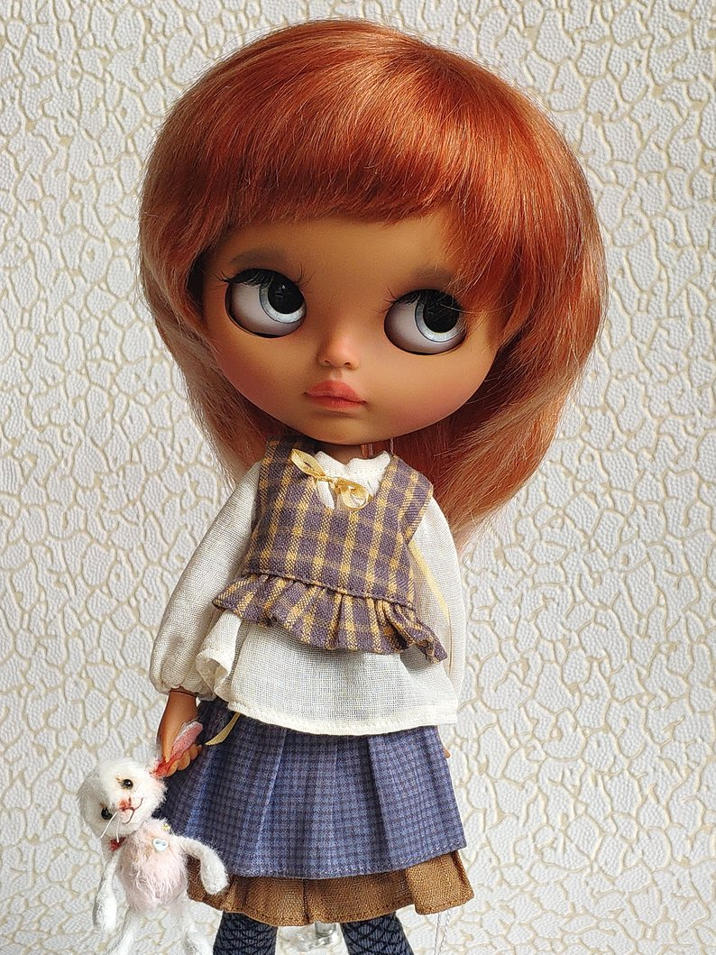 Kaitlyn - Custom Blythe Doll One-Of-A-Kind OOAK Sold-out Custom Blythes