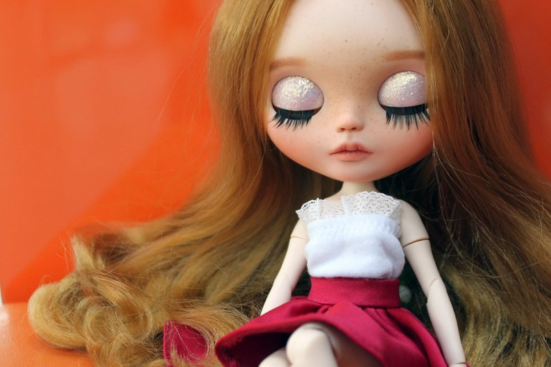 Ivy - Custom Blythe Doll One-Of-A-Kind OOAK Sold-out Custom Blythes