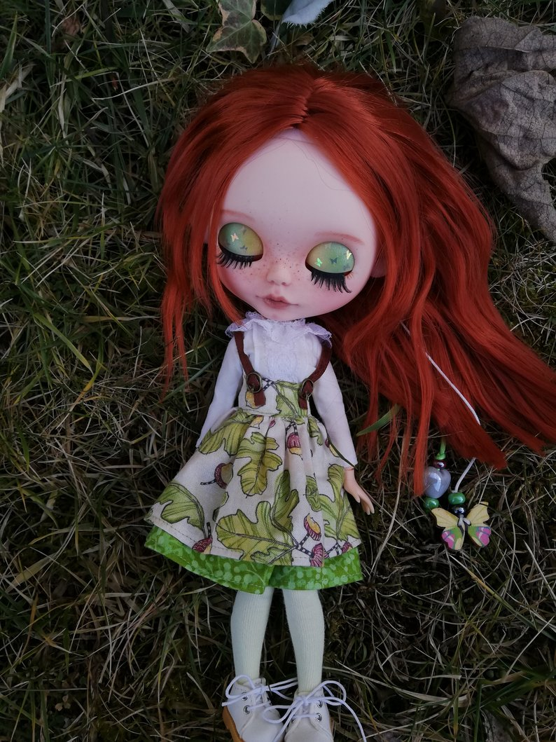 Coral - Custom Blythe Doll One-Of-A-Kind OOAK Sold-out Custom Blythes