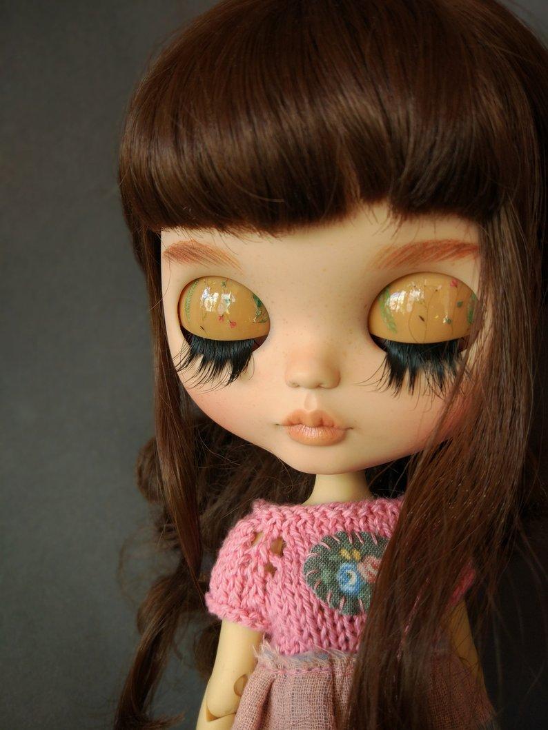 Skye - Custom Blythe Doll One-Of-A-Kind OOAK Sold-out Custom Blythes