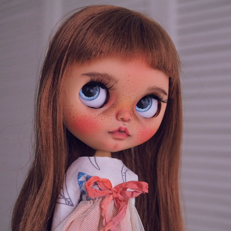 Ena - Custom Blythe Doll One-Of-A-Kind OOAK Sold-out Custom Blythes