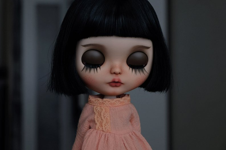 Araceli - Custom Blythe Doll One-Of-A-Kind OOAK Sold-out Custom Blythes