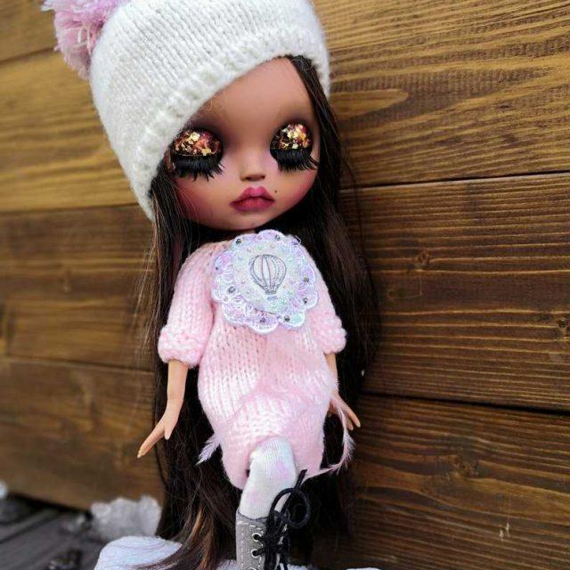 Ines – Custom Blythe Doll One-Of-A-Kind OOAK
