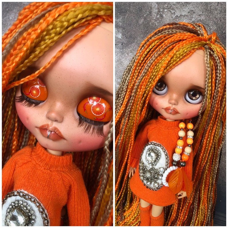 Alisa - Custom Blythe Doll One-Of-A-Kind OOAK Sold-out Custom Blythes