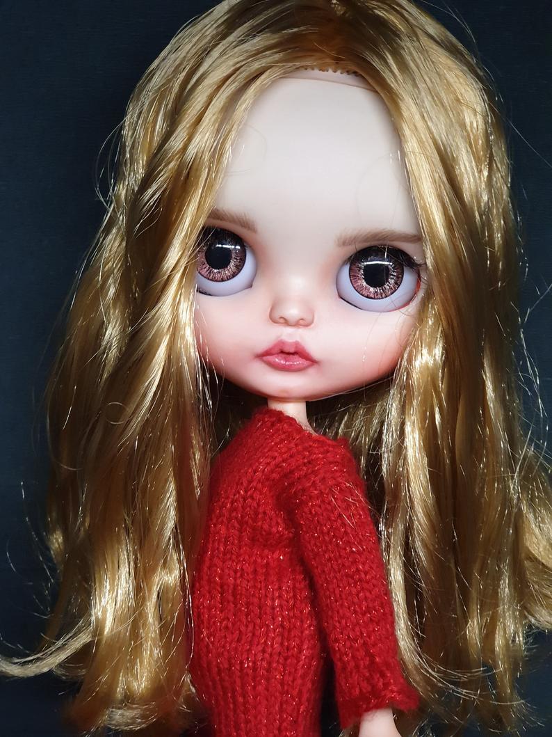 Elena - Custom Blythe Doll One-Of-A-Kind OOAK Sold-out Custom Blythes