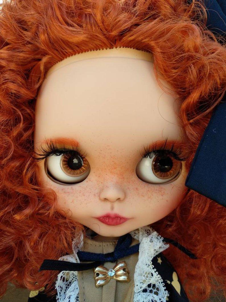 Liza - Custom Blythe Doll One-Of-A-Kind OOAK Sold-out Custom Blythes