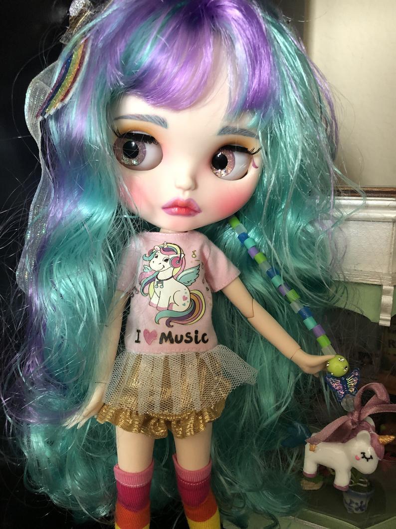 Tabitha - Custom Blythe Doll One-Of-A-Kind OOAK Sold-out Custom Blythes