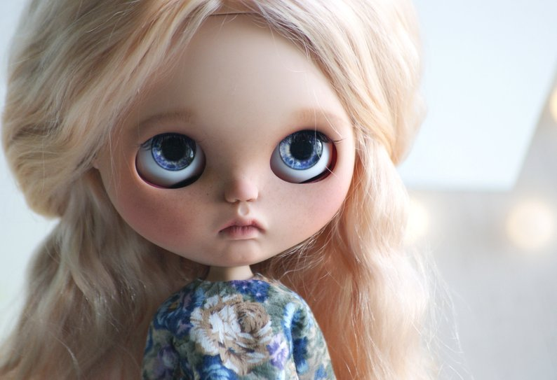Arabella - Custom Blythe Doll One-Of-A-Kind OOAK Sold-out Custom Blythes