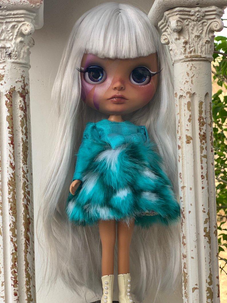 Ziggy - Custom Blythe Doll One-Of-A-Kind OOAK Sold-out Custom Blythes