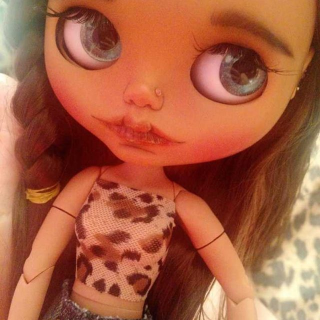 Tiaret – Custom Blythe Doll One-Of-A-Kind OOAK