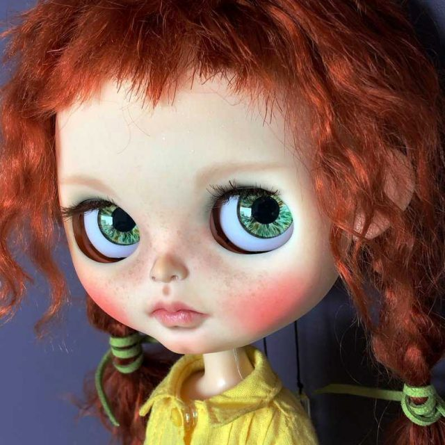 Marina – Custom Blythe Doll One-Of-A-Kind OOAK