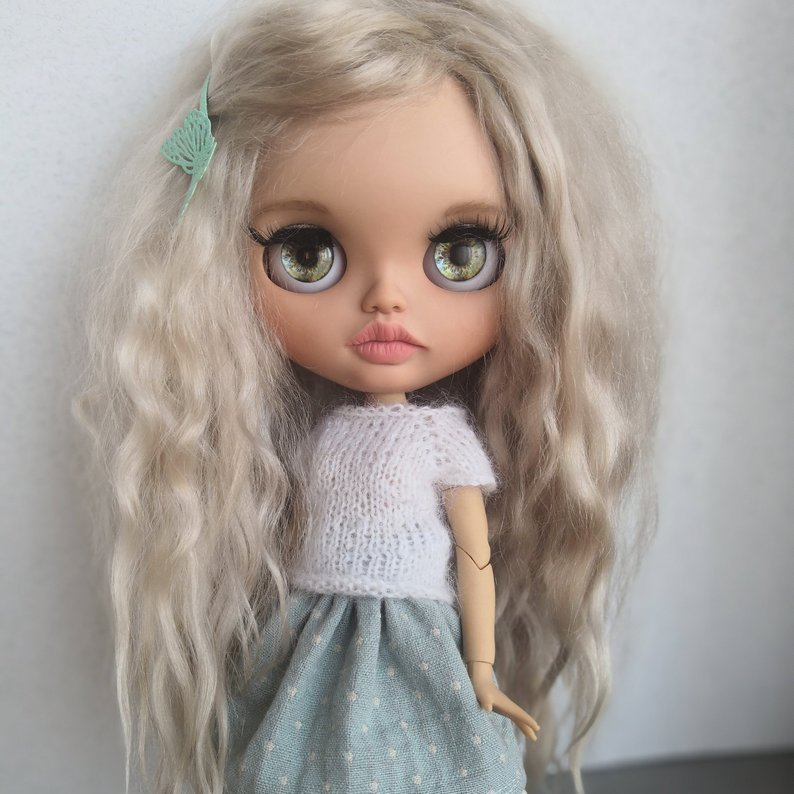Mollie - Custom Blythe Doll One-Of-A-Kind OOAK Sold-out Custom Blythes