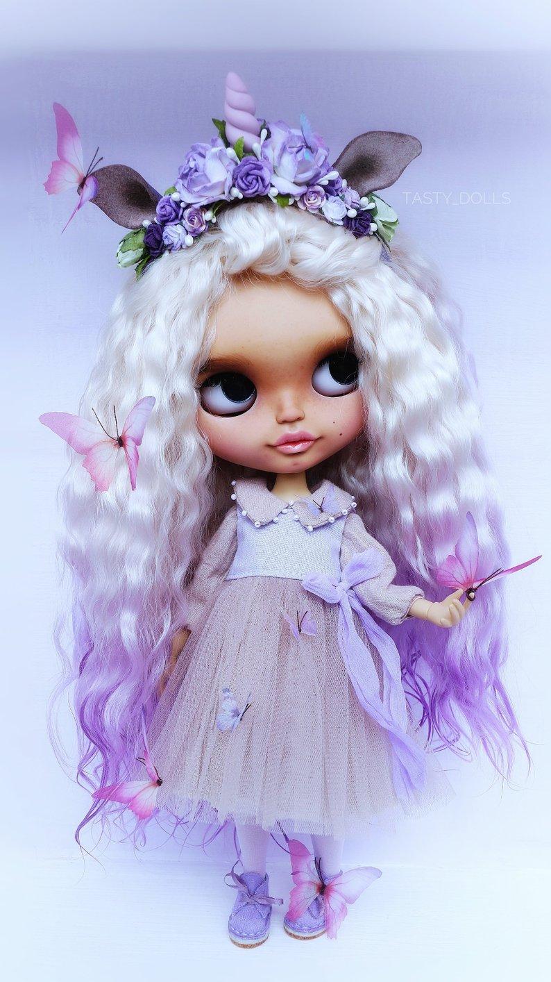 Jada - Custom Blythe Doll One-Of-A-Kind OOAK Sold-out Custom Blythes