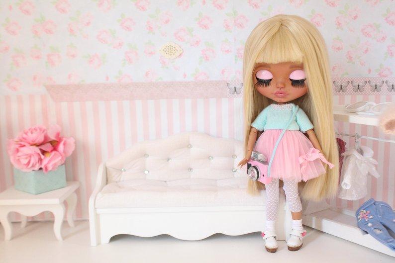 Shokolat - Custom Blythe Doll One-Of-A-Kind OOAK Sold-out Custom Blythes