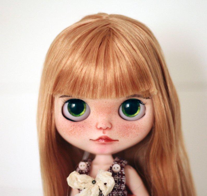 Vasilisa - Custom Blythe Doll One-Of-A-Kind OOAK Sold-out Custom Blythes