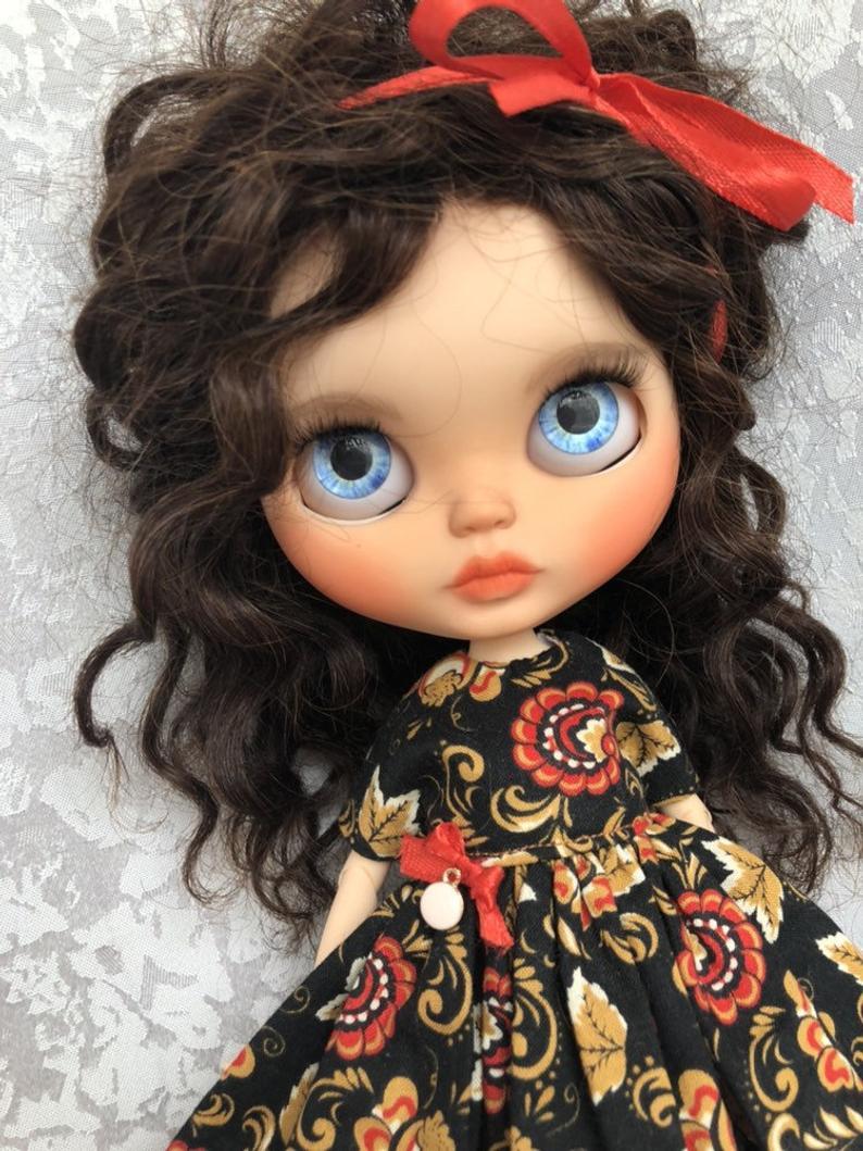 Daniella - Custom Blythe Doll One-Of-A-Kind OOAK Sold-out Custom Blythes