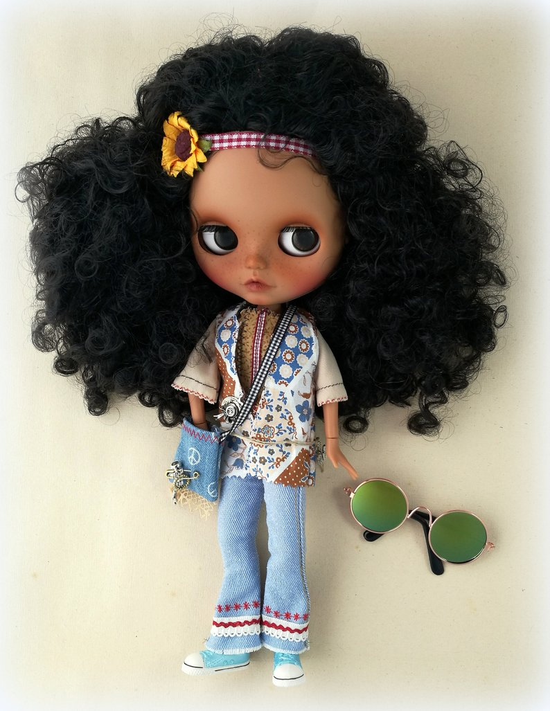 Cadence - Custom Blythe Doll One-Of-A-Kind OOAK Sold-out Custom Blythes