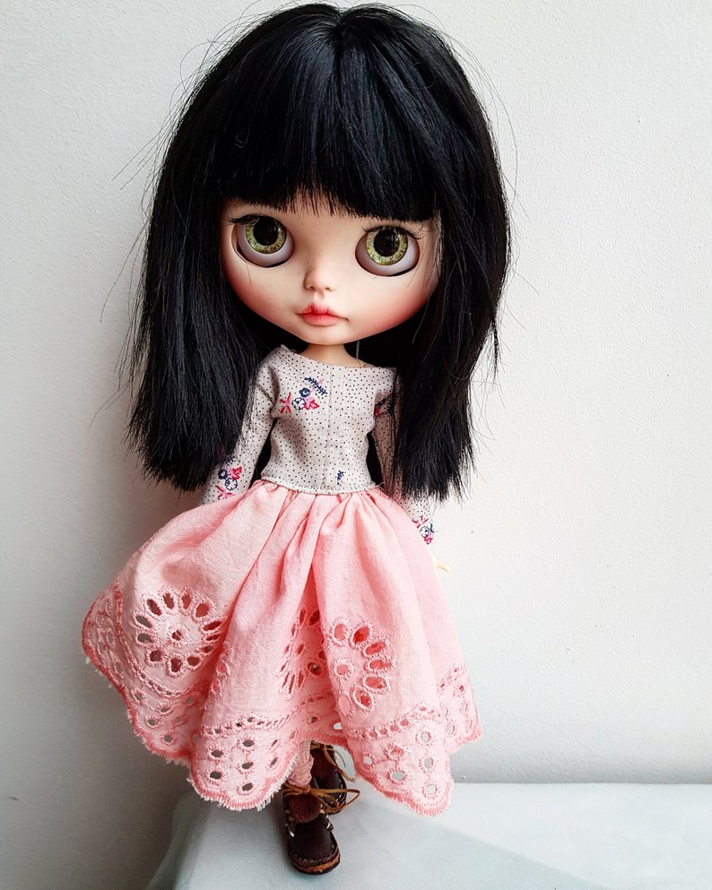 Abby - Custom Blythe Doll One-Of-A-Kind OOAK Sold-out Custom Blythes