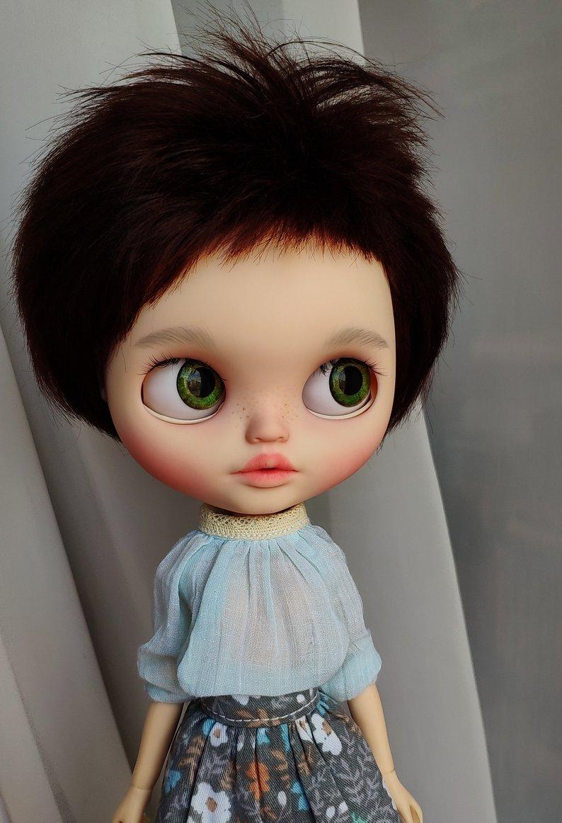 Samantha - Custom Blythe Doll One-Of-A-Kind OOAK Sold-out Custom Blythes