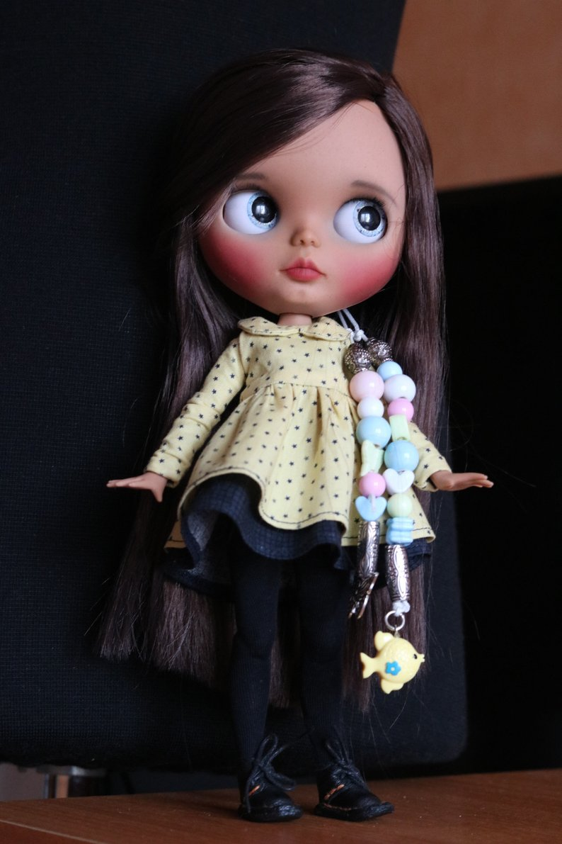 Chasity - Custom Blythe Doll One-Of-A-Kind OOAK Sold-out Custom Blythes