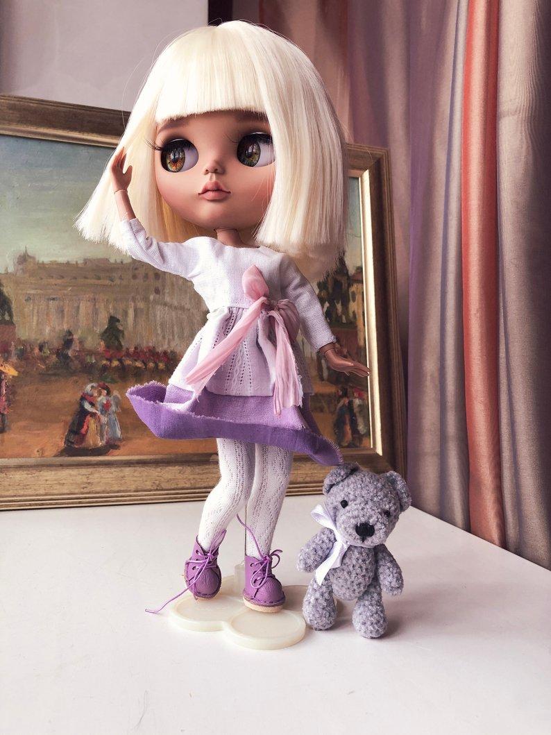 Monica - Custom Blythe Doll One-Of-A-Kind OOAK Sold-out Custom Blythes