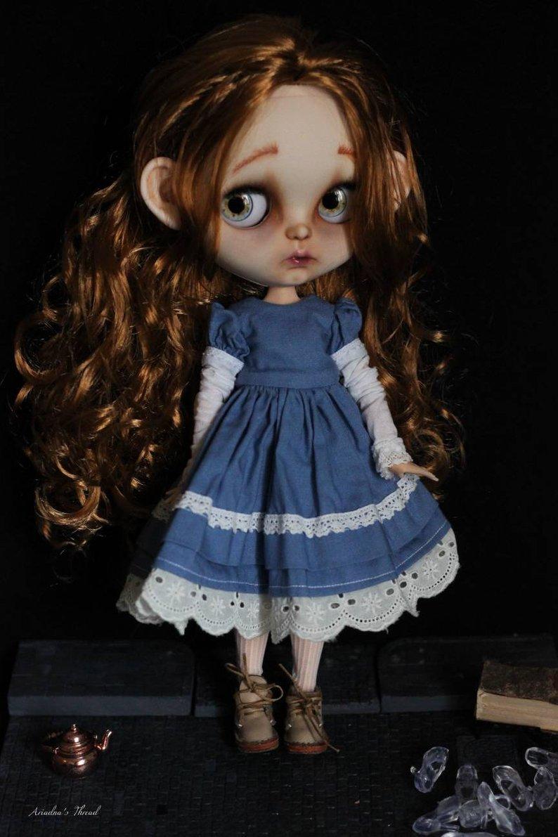 Cinderella - Custom Blythe Doll One-Of-A-Kind OOAK Sold-out Custom Blythes