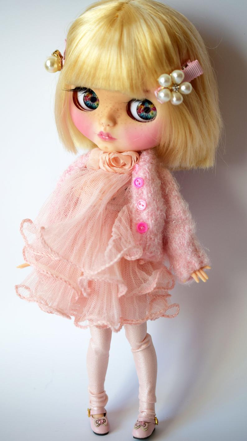 Zaniyah - Custom Blythe Doll One-Of-A-Kind OOAK Sold-out Custom Blythes