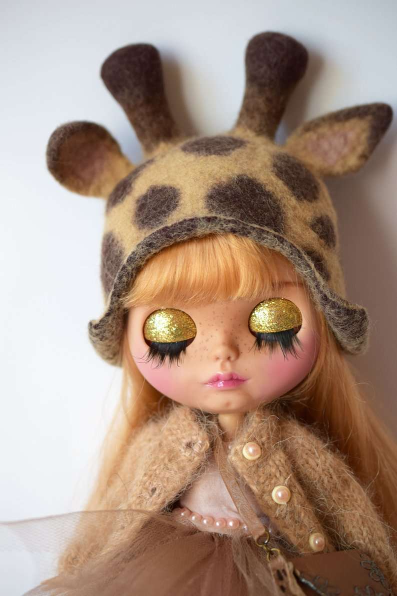 Ayanna - Custom Blythe Doll One-Of-A-Kind OOAK Sold-out Custom Blythes