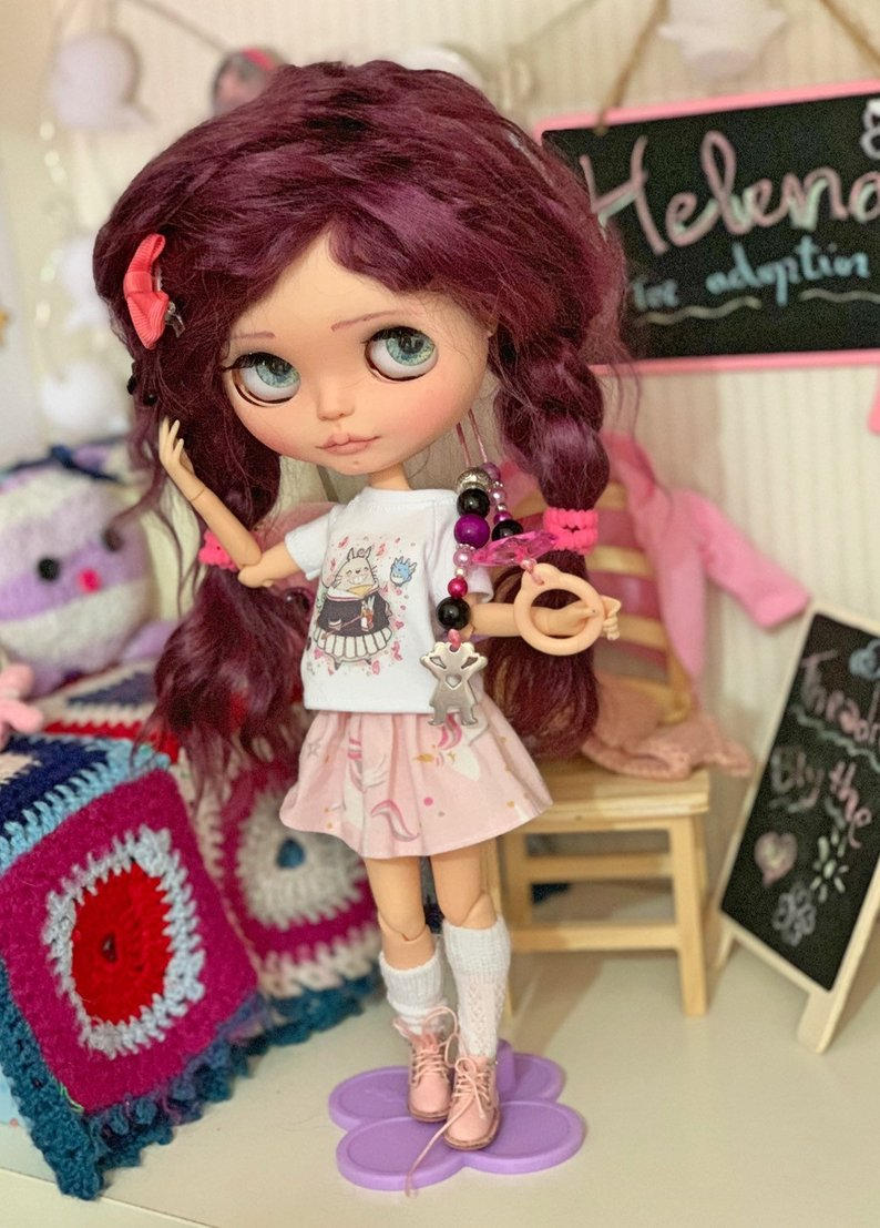 Helena - Custom Blythe Doll One-Of-A-Kind OOAK Sold-out Custom Blythes