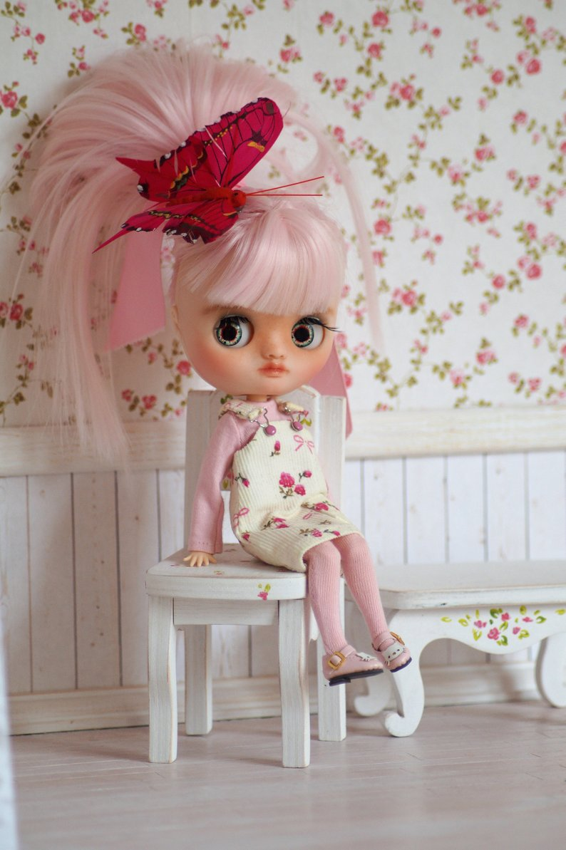 Lolly - Custom Blythe Doll One-Of-A-Kind OOAK Sold-out Custom Blythes