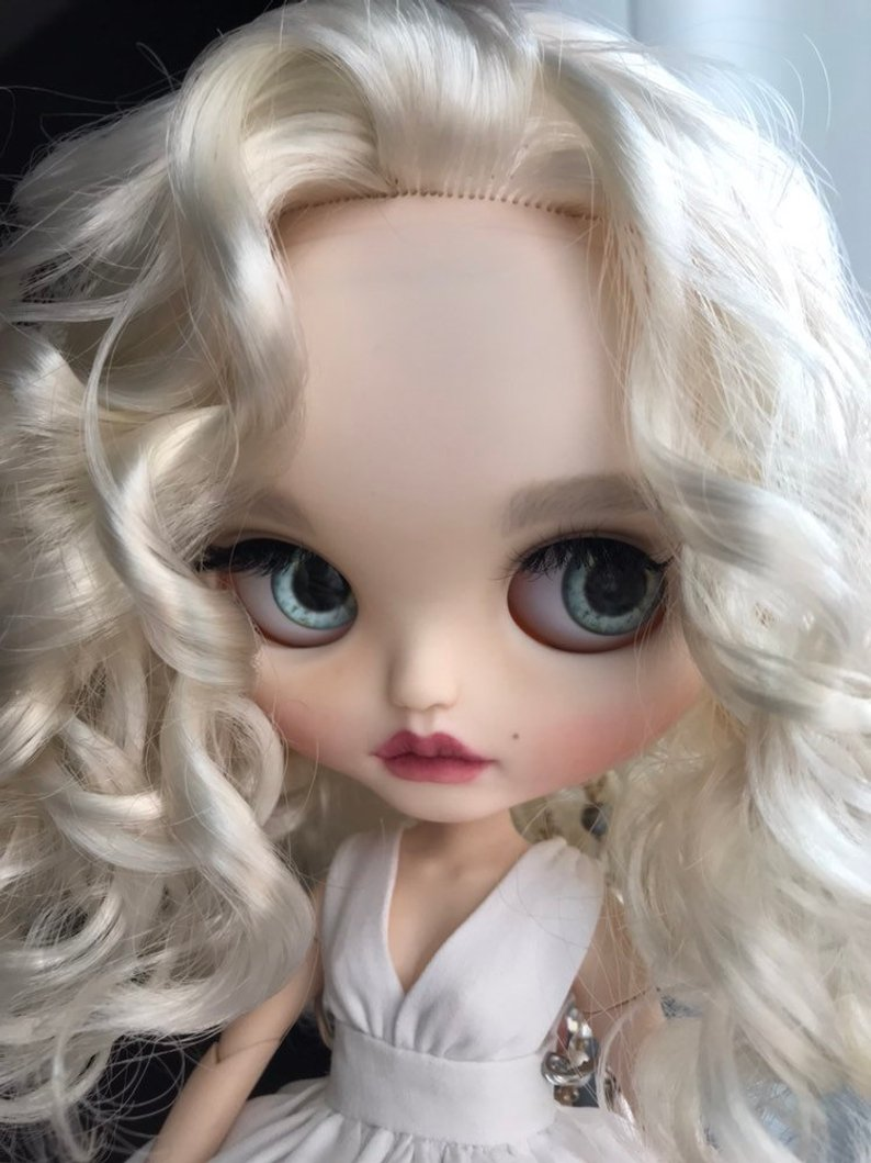 Nathaly - Custom Blythe Doll One-Of-A-Kind OOAK Sold-out Custom Blythes