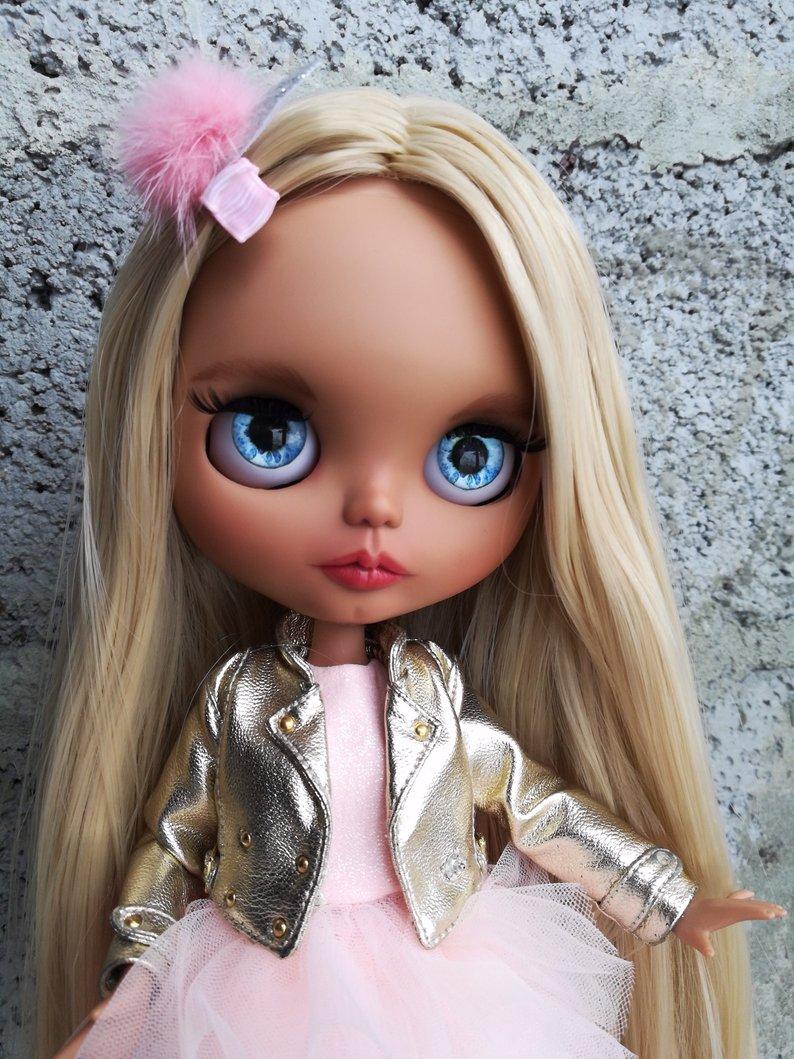 Fernanda - Custom Blythe Doll One-Of-A-Kind OOAK Sold-out Custom Blythes