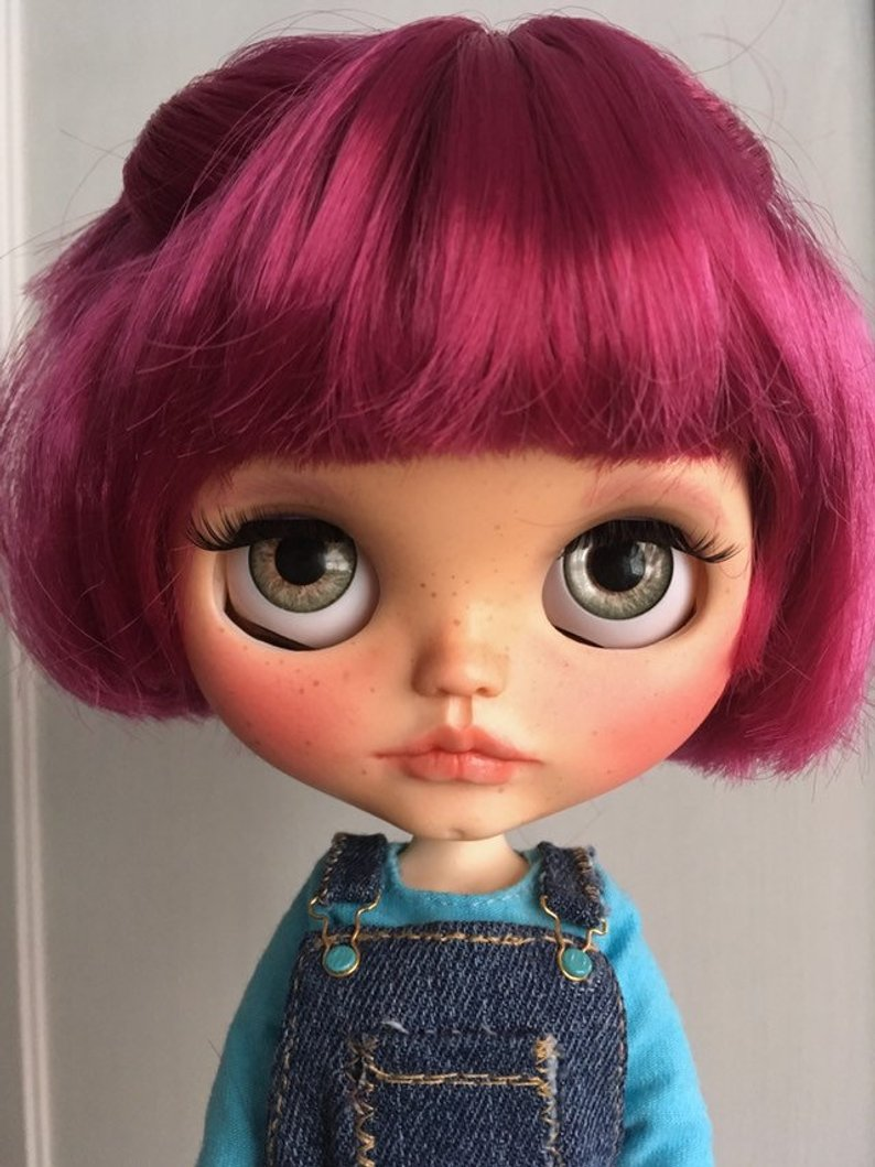Blueberry - Custom Blythe Doll One-Of-A-Kind OOAK Sold-out Custom Blythes
