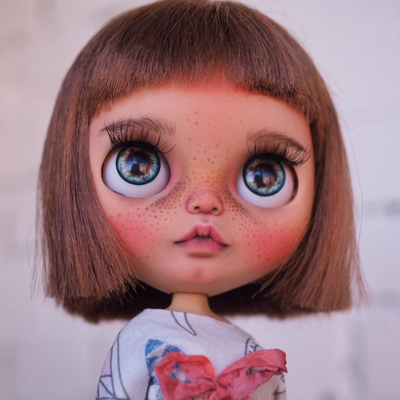 Paulina - Custom Blythe Doll One-Of-A-Kind OOAK Sold-out Custom Blythes