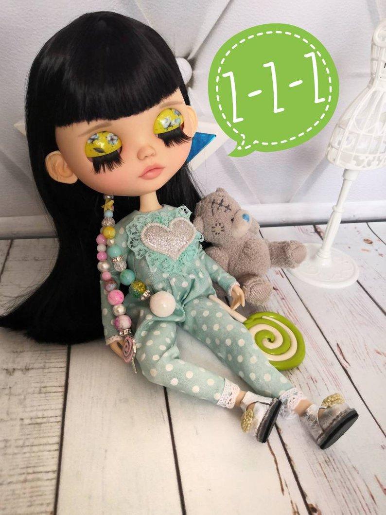 Diya - Custom Blythe Doll One-Of-A-Kind OOAK Sold-out Custom Blythes