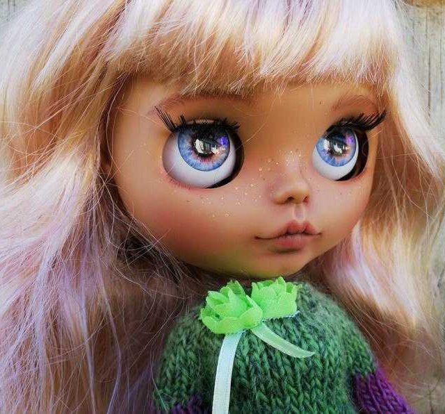 دانا - سفارشی Blythe عروسک OOAK