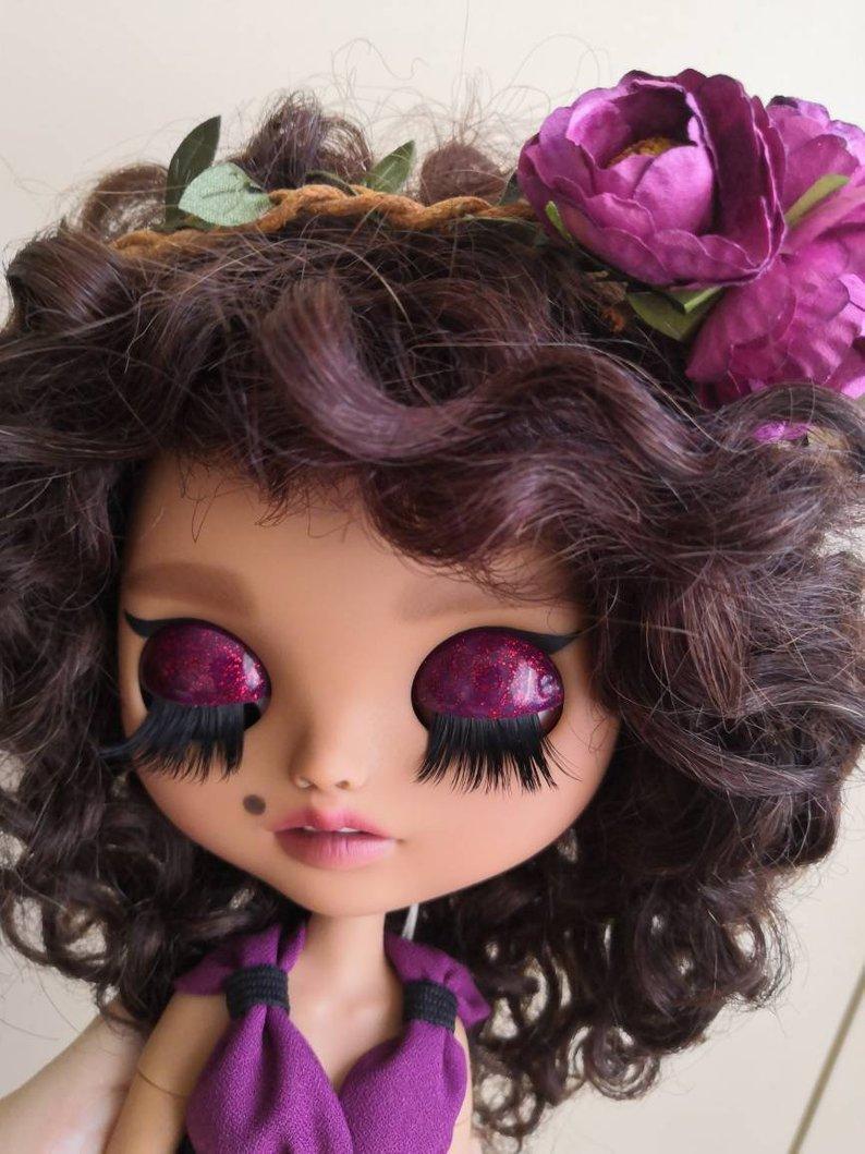 Sandra - Custom Blythe Doll One-Of-A-Kind OOAK Sold-out Custom Blythes