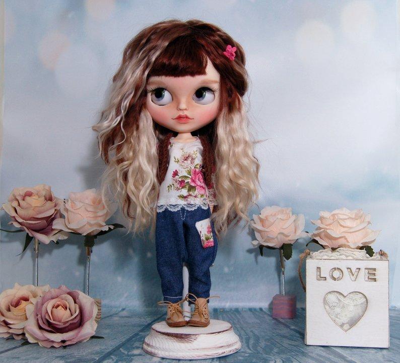 Maribel - Custom Blythe Doll One-Of-A-Kind OOAK Sold-out Custom Blythes