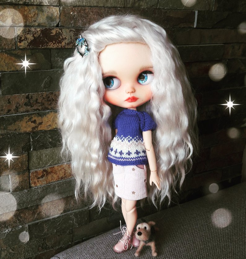 Jenny - Custom Blythe Doll One-Of-A-Kind OOAK Sold-out Custom Blythes