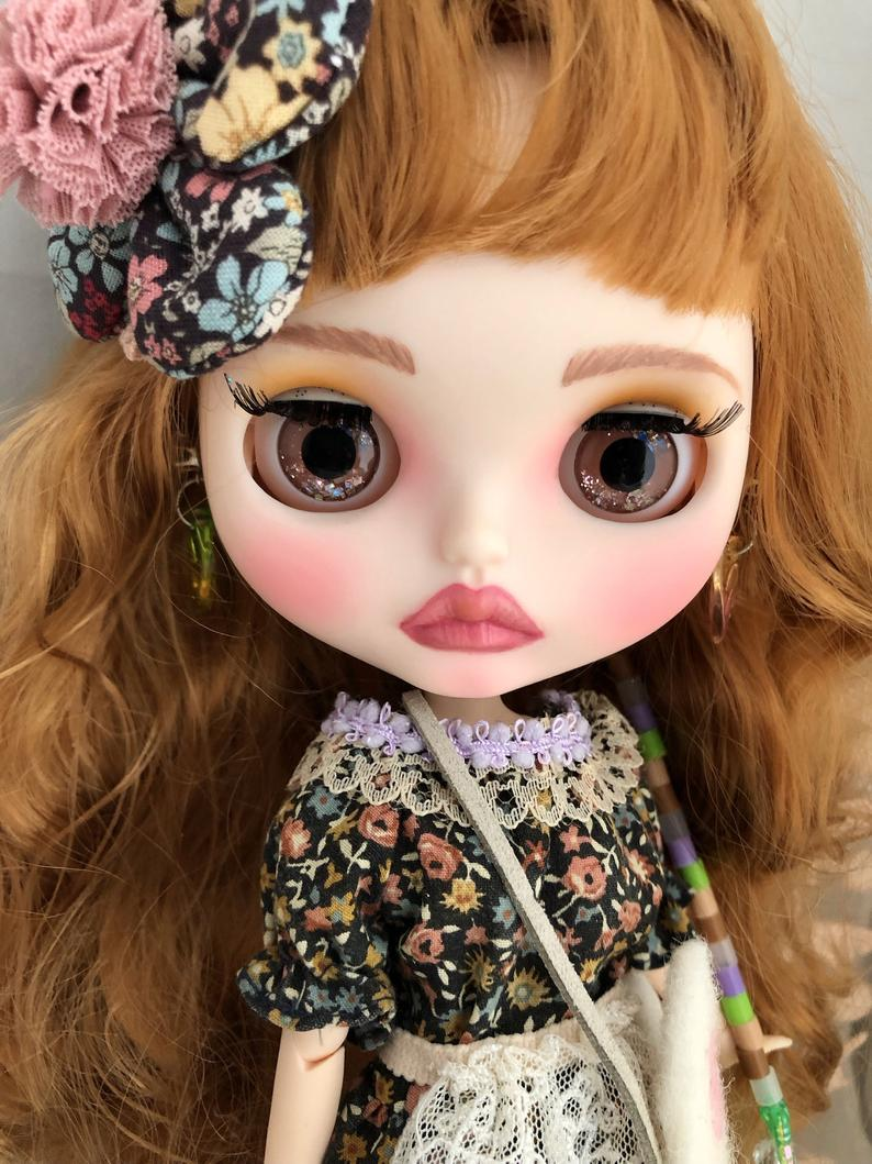 Mori - Custom Blythe Doll One-Of-A-Kind OOAK Sold-out Custom Blythes