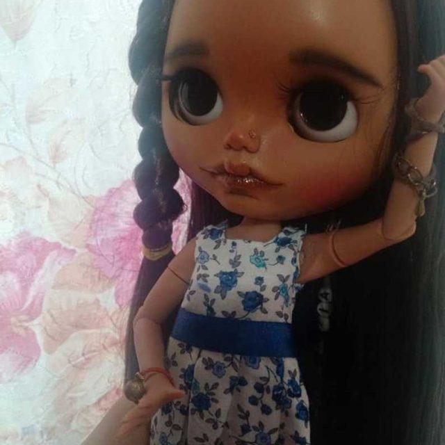 Tiaret – Custom Blythe Doll OOAK