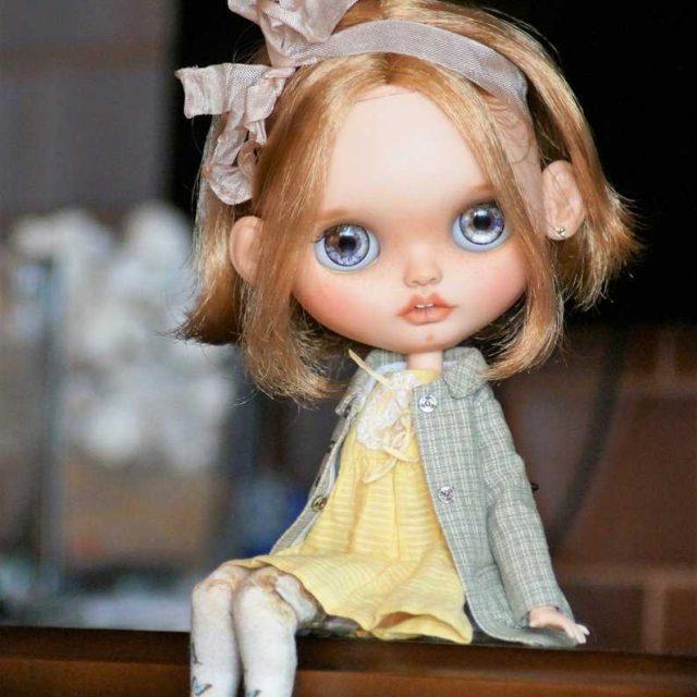 Amiyah – Custom Blythe Doll One-Of-A-Kind OOAK